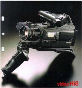 My first professional camcorder - the Sony EVO 9100 Hi8.