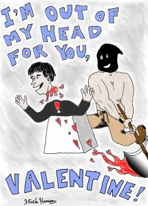 As we commemorate St Valentine's beheading!